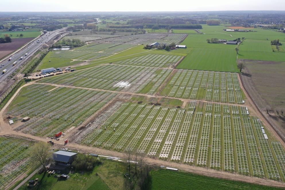 16.000 zonnepanelen leveren groene stroom aan 12.000 huishoudens